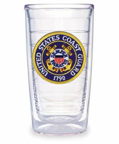 """Buy our Coast Guard Tervis Tumblers.  Tervis Tumblers are premium-quality, insulated drinkware. The Coast Guard emblem patch is ultrasonically sealed between two crystal-clear walls of top-grade polycarbonate which keeps cold drinks cold and hot drinks hot. Tervis Tumblers are virtually indestructable and they carry a lifetime warranty. The """"Coast Guard Tervis Tumbler"""" is a great way for you to show support in the home or office. This 16 oz premium quality tumbler also makes a great gift."""