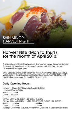 Japanese Restaurant | Best Japanese Buffet In Singapore | Shin Minori