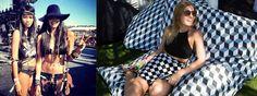 """Coachella, el festival de la """"moda"""" hippie y los famosos."""