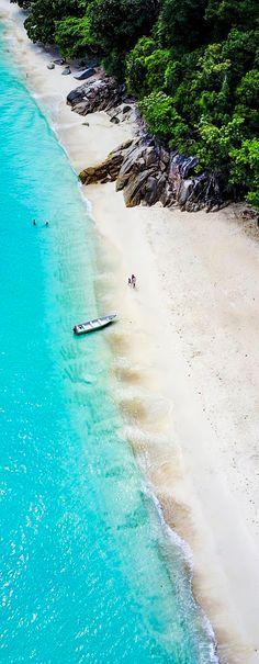Turtle Sanctuary Beach, Perhentian Islands, Malaysia