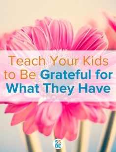 Teach your kids to be grateful! Avoid spoiling your kids and instead get tips on teaching kids gratitude so they're thankful for what they have. Parenting Advice, Kids And Parenting, Mindful Parenting, Grateful, Thankful, How To Teach Kids, Christian Parenting, Raising Kids, Life Skills