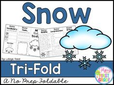 SnowCLICK BELOW TO CHECK OUT MY GROWING BUNDLE OF TRIFOLDS.  THERE ARE OVER 90 TOPICS!CHECK OUT THE MONEY SAVING GROWING BUNDLECLICK BELOW TO CHECK OUT OTHER TRI-FOLDSNEW YEARS TRI-FOLDPENGUINS TRI-FOLDTri-Folds Can Be Used For Literacy Centers Social Studies Mini Lesson Small Groups Homework Partner Work Research  Individual Work Group Work Tri-Fold Skills Included Vocabulary Writing Reading Passage Comprehension Fluency Art