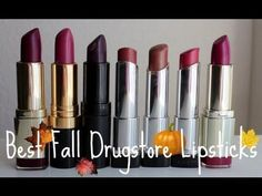 itsmekelsie Fashion, Beauty & Lifestyle Blog | What's Your Favorite Fall Lip Color?