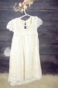 Lexee baptism dress
