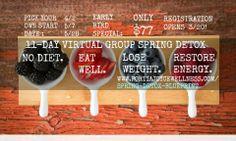 **BONUS**: Guide + Recipes for 3 Day How to Juice Cleanse   http://www.portiajoycewellness.com/spring-detox-blueprint