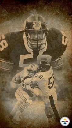 Pittsburgh Steelers Players, Go Steelers, Pitt Steelers, Football Art, Steeler Football, Football Players, Jack Lambert, Remember The Titans, Sport Inspiration