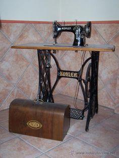 antigua maquina de coser KÖHLER - Foto 1
