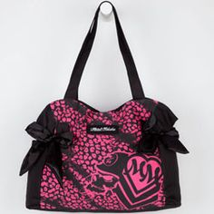 tillys handbags | Metal Mulisha Raging canvas tote bag. Allover neon cheetah print with ...