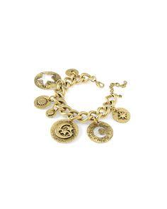 Lunar charm bracelet