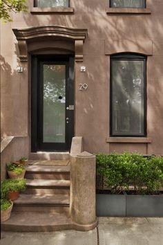 carroll gardens brownstone front stoop