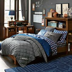 Oxford Storage Bed | PBteen