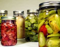 Aprender recetas y trucos de cocina: Como hacer conservas caseras de verduras