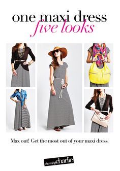 Max out in your maxi dress with these 5 fabulous looks!