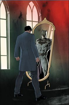 Bruce Wayne on the cover of Batman #44, DC Comics, 2018.