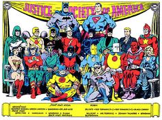 The ORIGINAL JSA (Justice Society Of America). I have always loved the JSA.