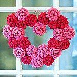 Rose Heart Wreath