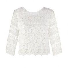 Bik Bok ALANA – Bluse – white