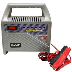 Oypla 8 Amp 12V Compact Portable Car Van Vehicle Battery Charger Starter