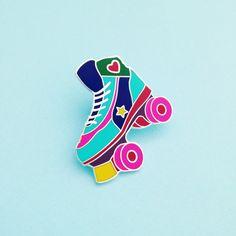 roller skate pin!