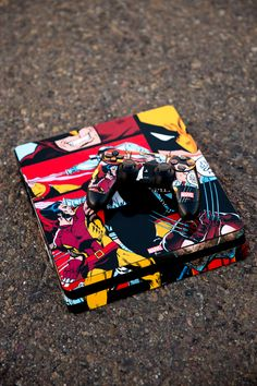 Wolverine Comic Collage PlayStation Gaming Skin