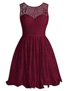 Tideclothes Short Lace Bridesmaid Dress Cute Bowtie Prom ... http://www.amazon.com/dp/B01A0L8ZDC/ref=cm_sw_r_pi_dp_DWlrxb1J8HR2S