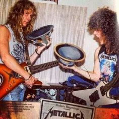 Early Metallica after Jason joined.