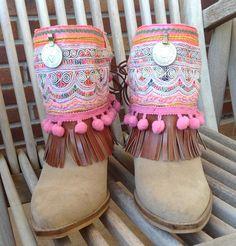 cubre botas etnico de hamuck en Etsy