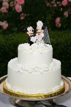 Disney Mickey And Minnie Wedding Cakes