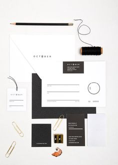october boutique identity | one plus one design.