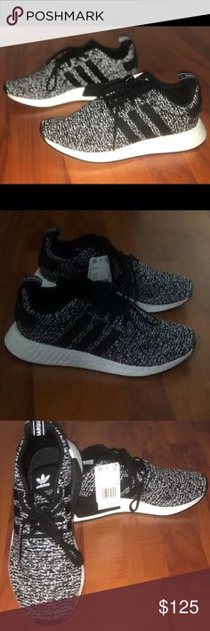 ca939e1a36ca9 Adidas NMD Primeknit BOOST Men s NMD PK Oreo black  white running sneakers.  Size  New with tags  No box adidas Shoes Sneakers