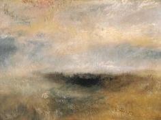 Joseph Mallord William Turner 'Seascape with Storm Coming On', c.1840