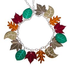 Autumn Leaves Necklace – Sugar & Vice