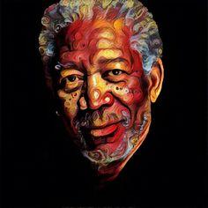 Morgan Freeman #myartpic