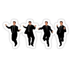 """Friends Tv Show Stickers""""The Chandler Dance"""" Stickers by doctorheadlyFriends stickers featuring millions of original designs created by independent artists.The Chandler Dance Sticker Chandler Friends, Tv: Friends, Friends Moments, Friends Series, Friends Tv Show, Les Stickers, Phone Stickers, Red Bubble Stickers, Printable Stickers"""