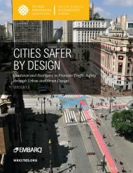 Many of the world's cities can become safer, healthier places by changing the design of their streets and communities. Where public streets have been designed to serve primarily or even exclusively private motor vehicle traffic, they can be made immensely safer for all users if they are designed to effectively serve pedestrians, public transport users, bicyclists, and other public activity.
