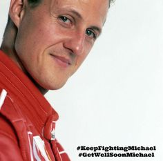 If there ever was a fighter, It's Michael Schumacher.  Prayers and Thoughts for his speedy recovery.