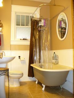1920s Craftsman Bungalow | 1920's Bungalow Bathroom, This is the bathroom in our 1920's Craftsman ...
