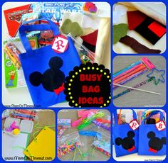 Busy Bag Activities for the Little Ones - Mom On Timeout