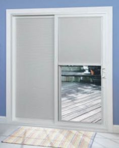 Panel Track Blinds For The Balcony Door Would Be Smart