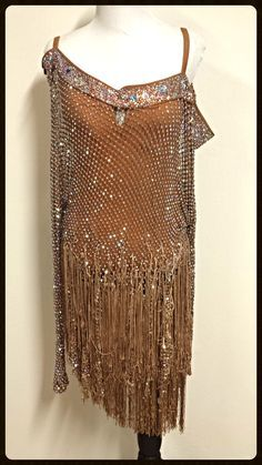 San Tropez - latin dress by Jordy for sale!  Visit Dazzle Dance Dress Rentals for all your ballroom dress needs!