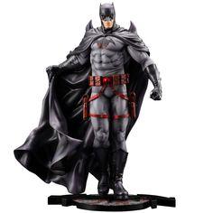 Batman: Thomas Wayne ARTFX Statue by Kotobukiya (APR2021) #batman #thomaswayne #flashpoint #dc #dccomics #kotobukiya #kotoofficial #fatsuma #artfx #collectible #toy #designertoy #vinyltoy #arttoy #instagood #beautiful #love #art #fashion #new Dc Comics, The Flashpoint, Thomas Wayne, Bat Symbol, Batman Hush, Black Costume, Story Arc, Nier Automata, Batman Family