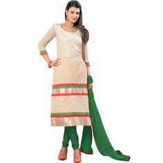 World's Most Selling Sohani Beige color Laces Salvar Suit