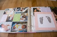 Project Life Baby Album – First Year