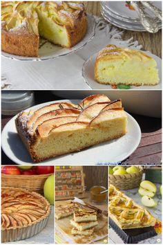Una miniraccolta di dolci con le mele; cinque ricette facili e di sicura riuscita, tutte da provare!