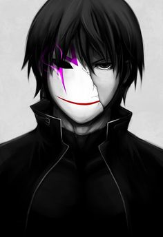 Hei from Darker than Black | #anime #manga...... I'm just gonna go sit in the corner and sulk about where a certain nick name came from... No big just growing some fungus ...