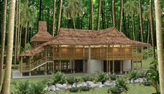 bamboo houses philippines | When complete, the Kerith Ravine Community Resource Center will look ...
