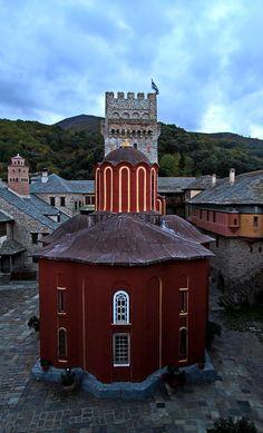 Karakalou monastery, Mount Athos, Greece | by ΒΦ photography