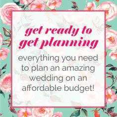 The Ultimate Wedding Planning On a Budget Giveaway!