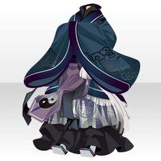 神狐伝|@games -アットゲームズ- Manga Clothes, Drawing Clothes, Fashion Art, Girl Fashion, Fashion Design, Anime Outfits, Cute Outfits, Kleidung Design, Anime Dress