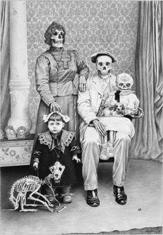 There was something unusual about the Morrison family.